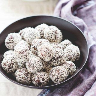 Clementine Rum Balls | Healthy Seasonal Recipes by Katie Webster | No-Bake and Vegan!