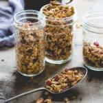 maple granola   healthy seasonal recipes