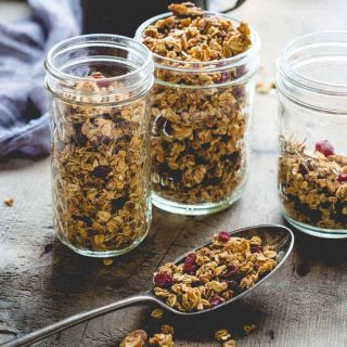 maple granola | healthy seasonal recipes