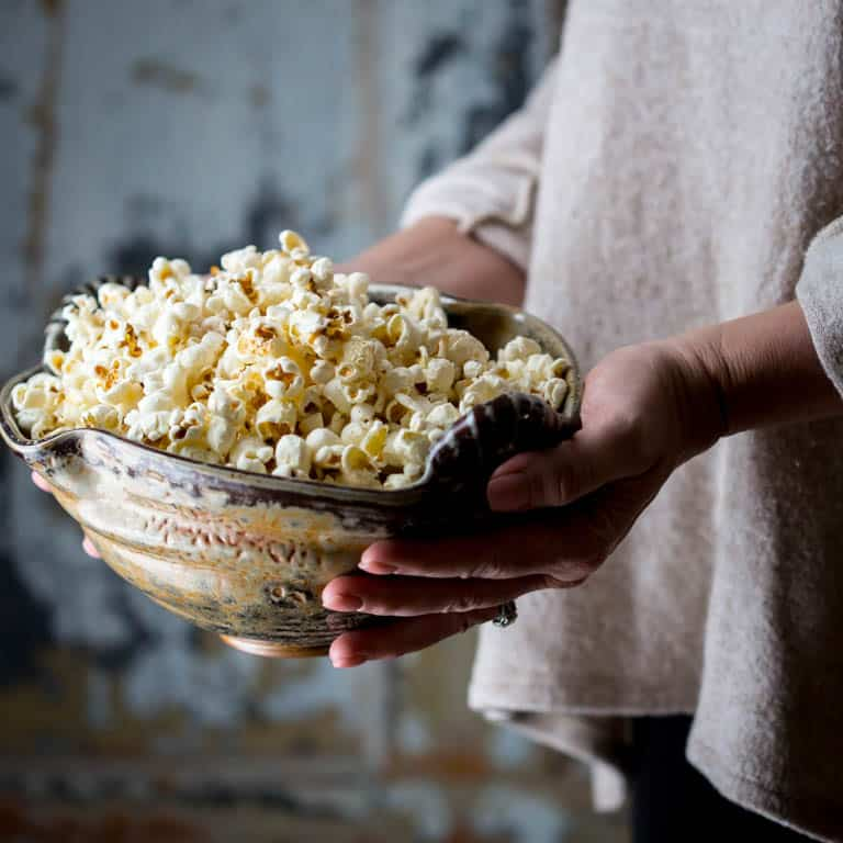 how to cook popcorn stove top
