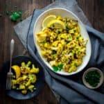 Curry Roasted Cauliflower   Side Dish   Vegan   Vegetables   Paleo   Gluten Free   Dairy Free   Healthy Seasonal Recipes