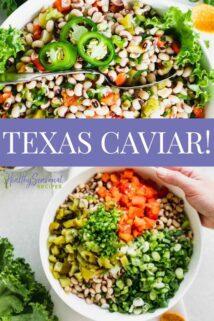 texas caviar with text overlay