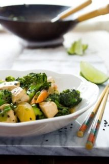 Chicken And Broccoli Stir-fry with Maple Tahini Sauce | Healthy Seasonal Recipes