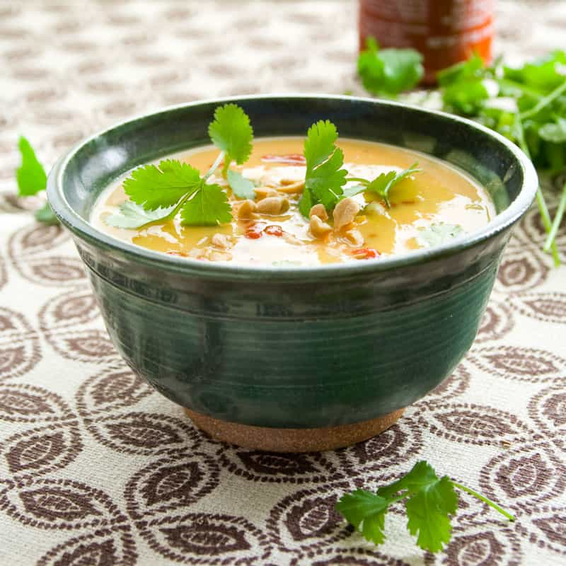 sweet potato and peanut soup - Healthy Seasonal Recipes
