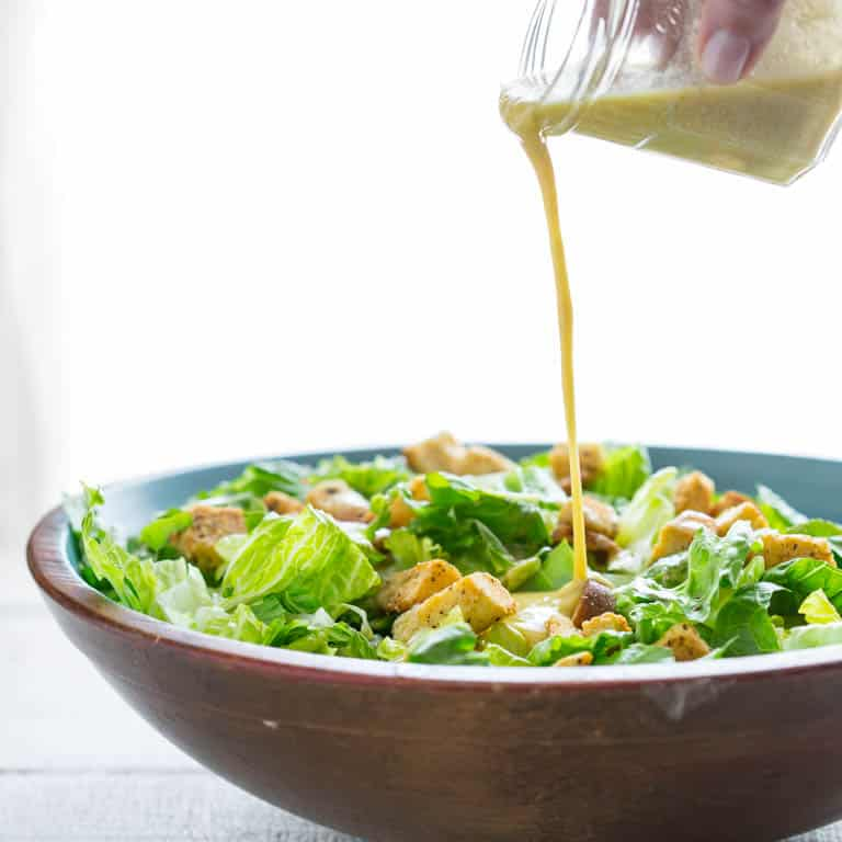 how to make simple egg free caesar salad dressing healthy seasonal recipes. Black Bedroom Furniture Sets. Home Design Ideas