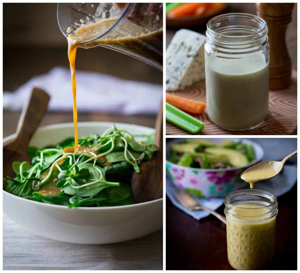 Salad Dressing Collection on Healthy Seasonal Recipes by Katie Webster