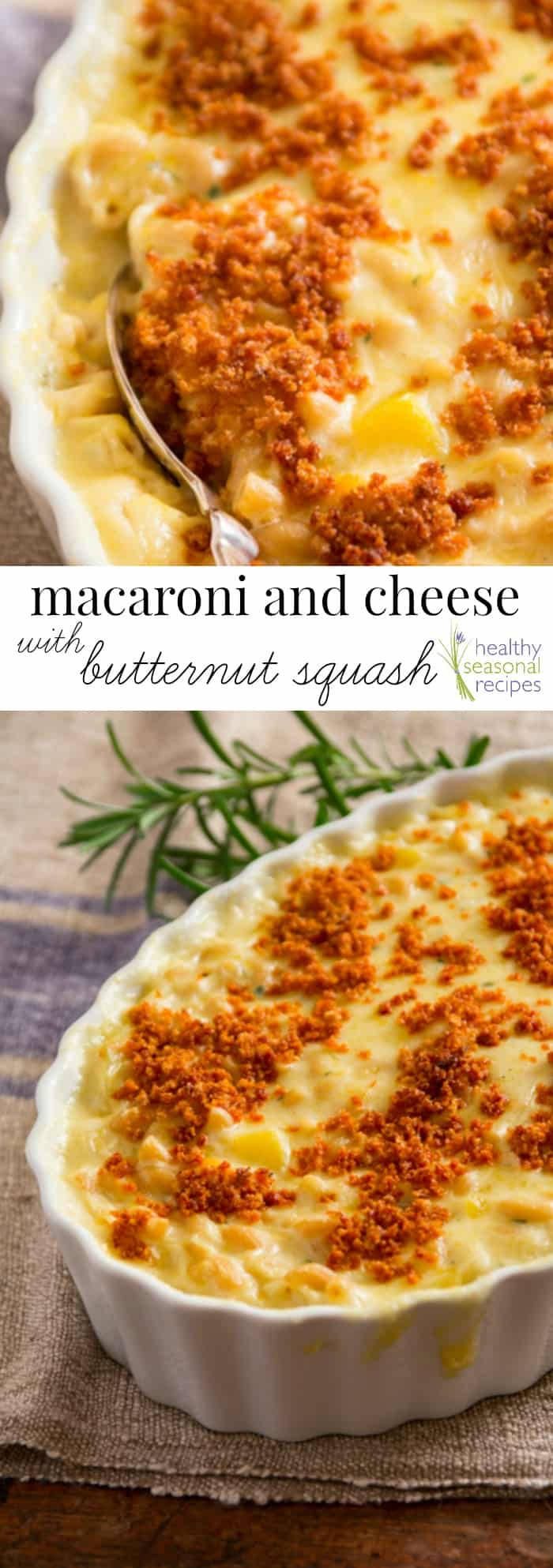 macaroni and cheese with butternut squash - Healthy ...