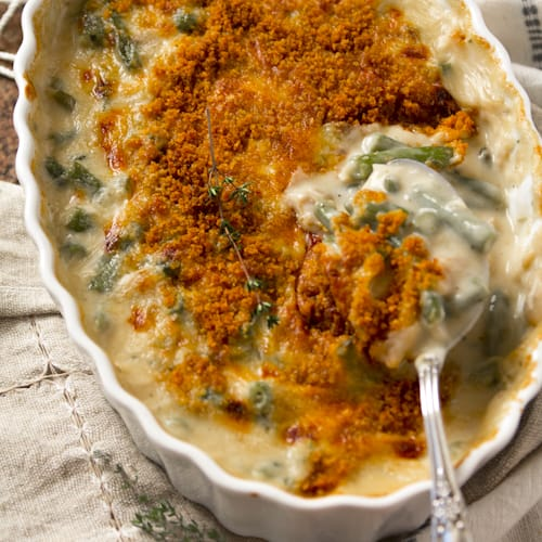 cheddar green bean casserole