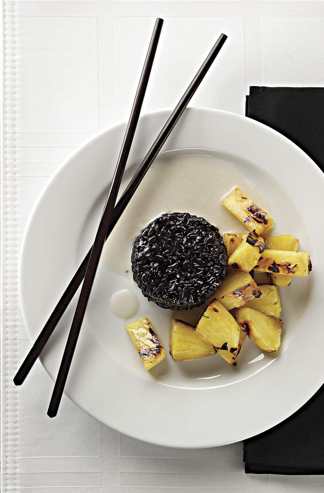asian grill_019 black rice w pineapple