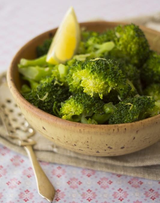 lemon garlic broccoli