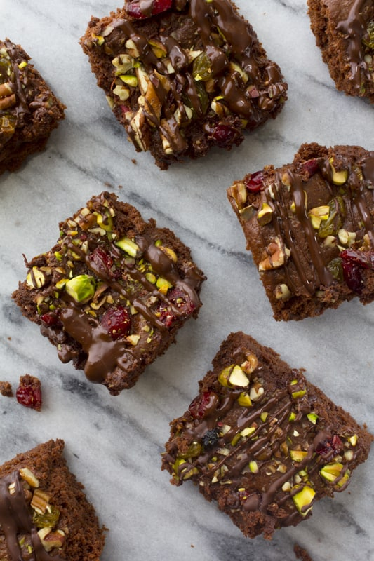 Trail Mix Brownies