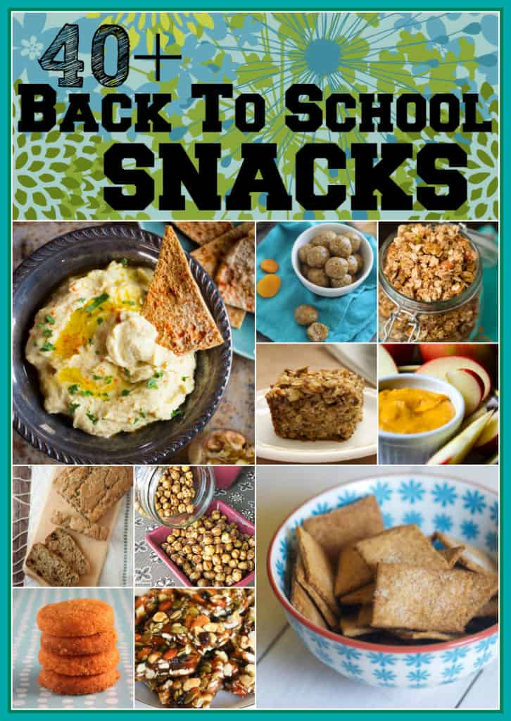40 Plus back to school snack collection