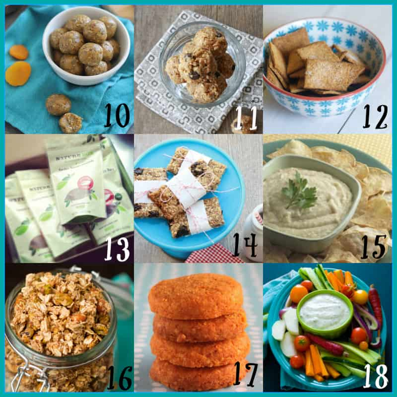 back to school snacks round-up, 40+ recipes