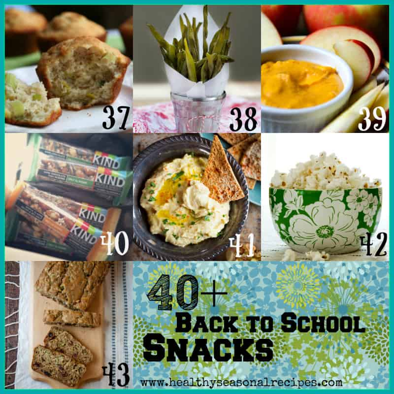 back to school snack round-up