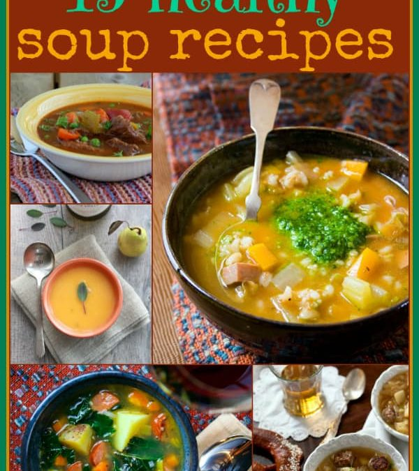 15 healthy soup recipes