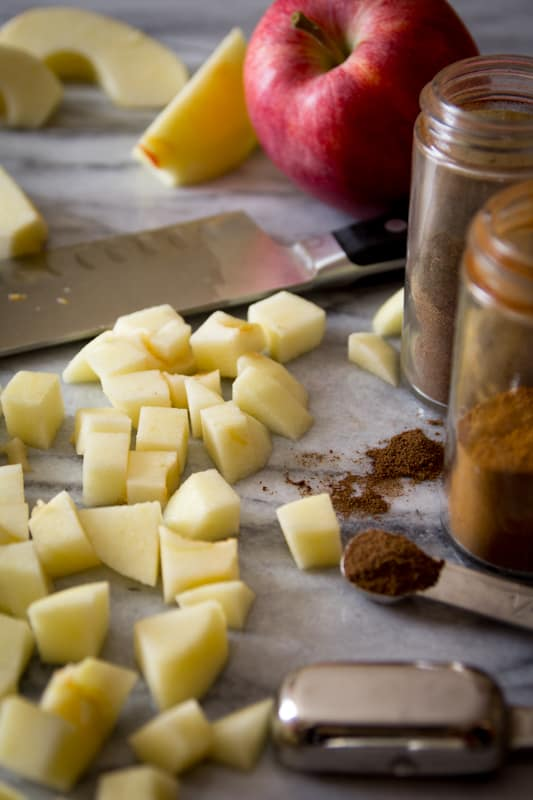 Apples for Apple Pie Ice Cream | Healthy Seasonal Recipes @healthyseasonal