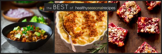 The Best of Healthy Seasonal Recipes