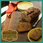 Gluten Free Date Bread with Coffee and Ginger