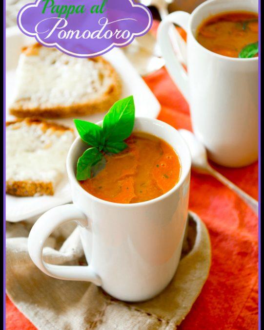 pappa al pomodoro italian tomato bread soup