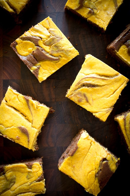 Pumpkin Pie Brownies | Healthy Seasonal Recipes