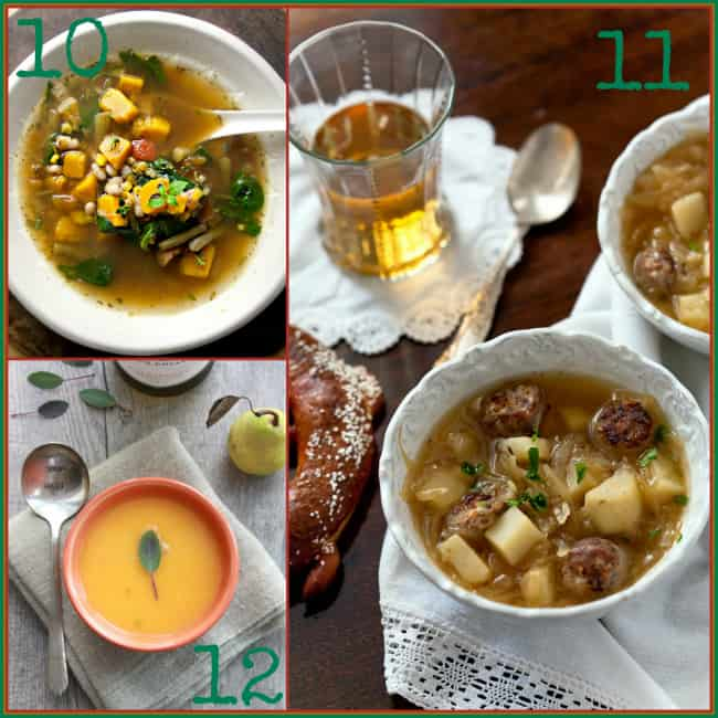 15 Healthy Soup Recipes | Healthy Seasonal Recipes @healthyseasonal