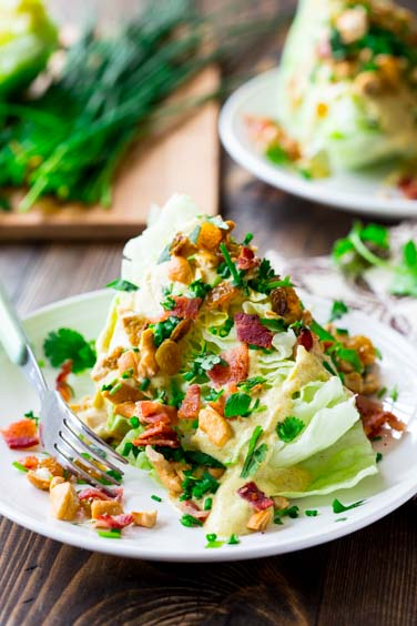 The Curry Wedge Salad