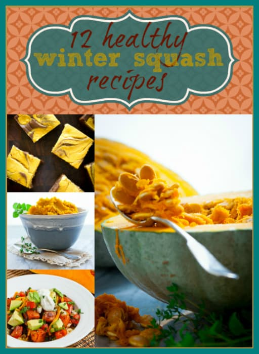 12 healthy winter squash recipes