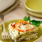 low-carb-roasted-garlic-and-chevre-lasagna
