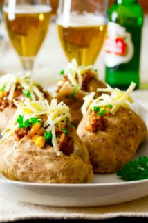Shepherd's Pie Loaded Baked Potatoes | Beef | Comfort Food | Fall | Kid Friendly | Dinner | Winter | Healthy Seasonal Recipes