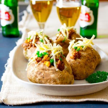 shepherd pie loaded baked potatoes