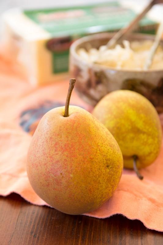 Turkey Reuben Quesadillas with Pear | Healthy Seasonal Recipes