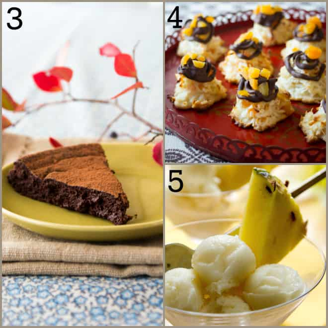 14 Healthy Seasonal ideas for Holiday Sweets