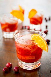 Cranberry Tangerine Negroni @healthyseasonal