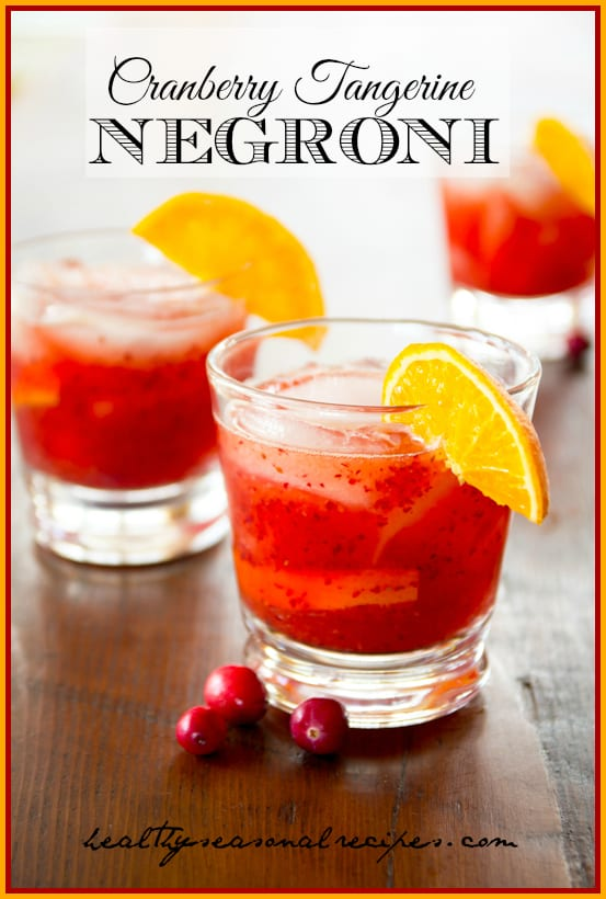Cranberry-tangerine-negroni | Healthy Seasonal Recipes @ ...