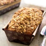 eggnog-pumpkin-bread-with-cinnamon-streusel and King Arthur Flour Bake and Giveaway Giveaway @healthyseasonal