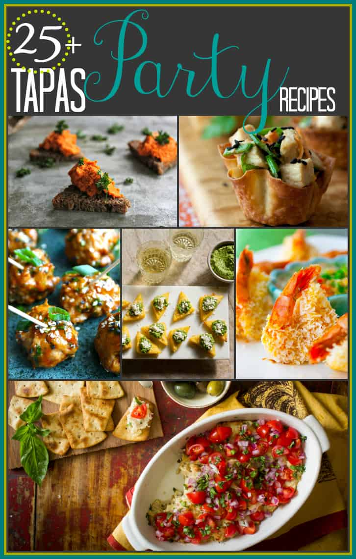 25-plus-tapas-party-recipes via @healthyseasonal | Healthy Seasonal Recipes