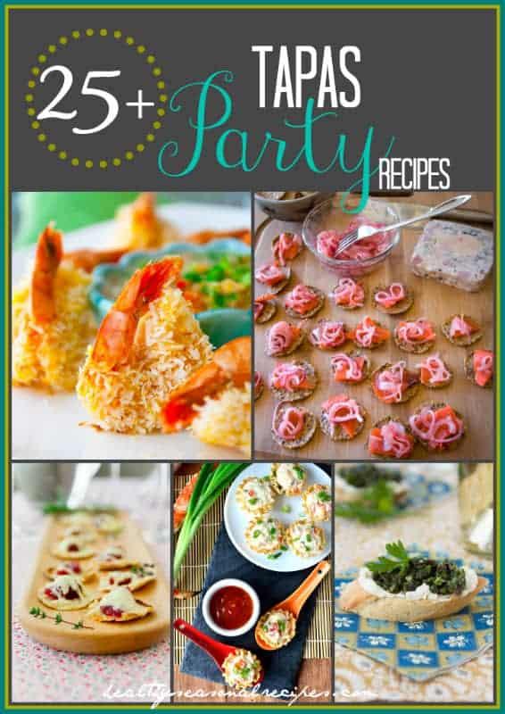 25 tapas party recipes