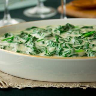 cheddar creamed spinach recipe | Healthy Seasonal Recieps