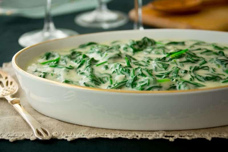 cheddar creamed spinach