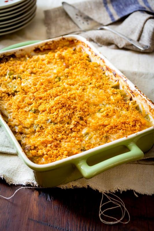 Light Potatoes au gratin with leeks and parsnips via Healthy Seasonal Recipes