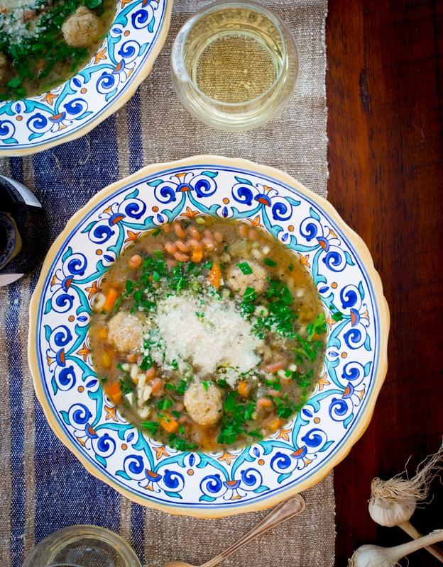 chicken-noodle-italian-wedding-soup