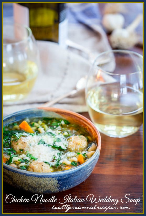 En Noodle Italian Wedding Soup Cleaneating Healthy Seasonal