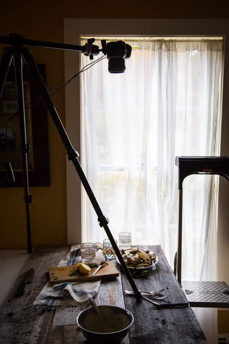 Use a tripod | Tips for food bloggers by Katie Webster