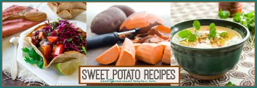 sweet potato collection at Healthy Seasonal Recipes