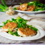 Thai Fish Cakes with Herbal Salad | Healthy Seasonal Recipes only 222 calories