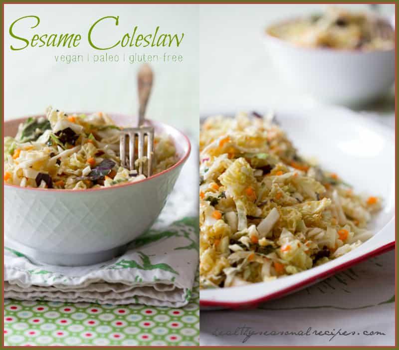 sesame coleslaw recipe