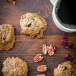 Cherry Berry Breakfast Cookies