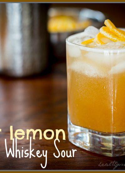 maple meyer lemon whiskey sour