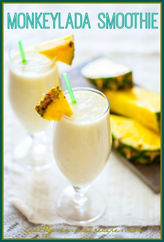 monkeylada smoothie smoothie   #raw #vegan #gluten-free