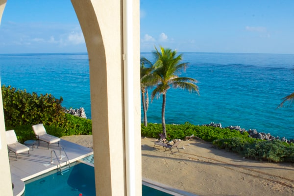 The view from our balcony | Grand Cayman